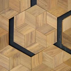Octagonal floor | Mosaïques en bois | Deesawat