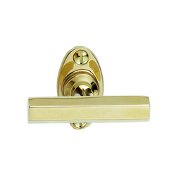 Art Déco 1929 T shape window handle | Lever window handles | Tecnoline