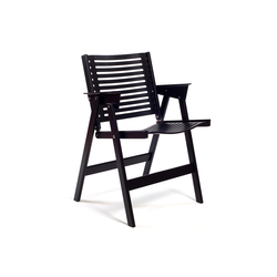 Rex Chair Black | Sillas de jardín | Rex Kralj