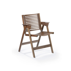 Rex Chair walnut | Garden chairs | Rex Kralj