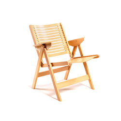 Rex Lounge Chair beech natural | Poltrone da giardino | Rex Kralj
