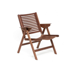 Rex Lounge Chair walnut | Sillas de jardín | Rex Kralj