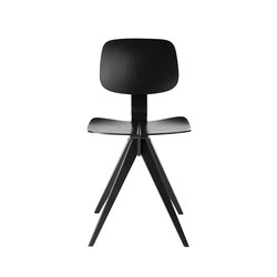Mosquito Black | Visitors chairs / Side chairs | Rex Kralj