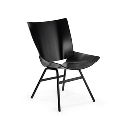 Shell Lounge Black | Fauteuils d'attente | Rex Kralj