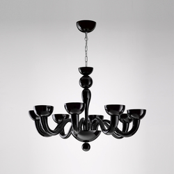 Tate 8L | Ceiling suspended chandeliers | Panzeri
