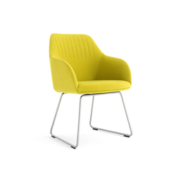 Ease | Visitors chairs / Side chairs | Arco