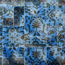 The Mashup Fresco series capri blue | Rugs / Designer rugs | kymo