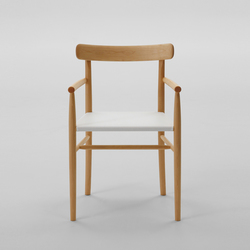 Lightwood Arm chair (Mesh seat) | Sedie | MARUNI