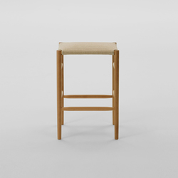 Lightwood Stool Mid (Cushioned) | Tabourets de bar | MARUNI