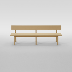 Botan Bench 210 | Waiting area benches | MARUNI