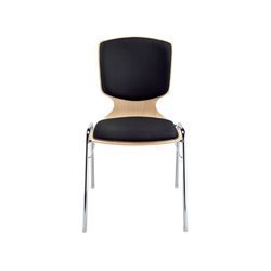 Amico extra Four-legged chair | Chairs | Dauphin