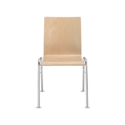 Amico extra Four-legged chair | Chaises | Dauphin