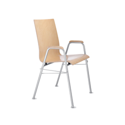 Amico extra Four-legged chair | Multipurpose chairs | Dauphin