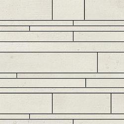 Beton white lappato mosaico sin fin | Mosaïques céramique | Apavisa