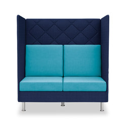 Atelier two-seater, height 136 cm | Sofás lounge | Dauphin