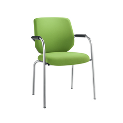 Bionic Four-legged chair | Visitors chairs / Side chairs | Dauphin