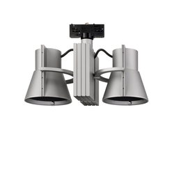 AiKU Track spotlights Twin 2 | Ceiling-mounted spotlights | Alteme