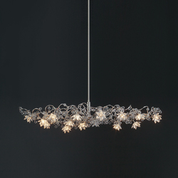 Jewel Diamond Oval Pendant lamp HL 15 | General lighting | HARCO LOOR