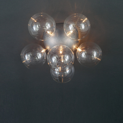 Molecule Diam Ceiling light 46 PL 6 | General lighting | HARCO LOOR