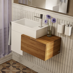 Puzzle 45 drawer side unit | Mobili lavabo | SONIA