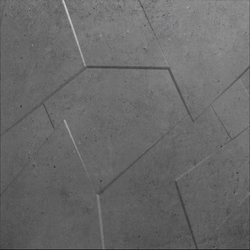 Anarchy anthracite natural prism | Ceramic panels | Apavisa