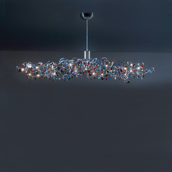 Tiara Oval Pendant light 24 | Suspended lights | HARCO LOOR