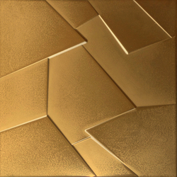 Anarchy gold lappato prism | Ceramic panels | Apavisa