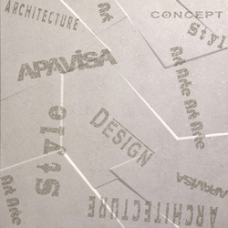 Anarchy ivory natural prism letters | Ceramic panels | Apavisa