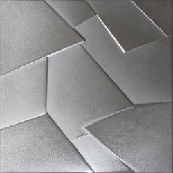 Anarchy silver lappato prism | Ceramic panels | Apavisa