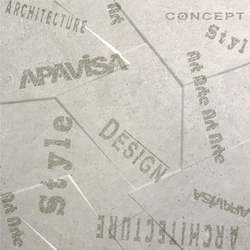 Anarchy beige natural prism letters | Ceramic panels | Apavisa