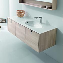 Meubles sous lavabo 5 mobilier salle de bain sanitaires for Meuble salle de bain smith