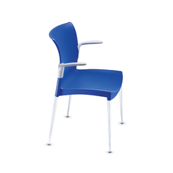 Ecco! Four-legged chair | Visitors chairs / Side chairs | Dauphin