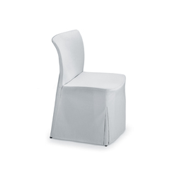 Ecco! Four-legged chair with cover | Sedie visitatori | Dauphin