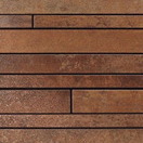 Metal copper lappato mosaico sin fin | Ceramic tiles | Apavisa