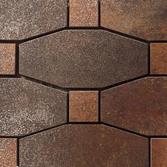 Metal titanium lappato mosico blend | Mosaici metallo | Apavisa