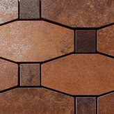 Metal copper lappato mosaico blend | Mosaici in metallo | Apavisa