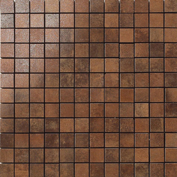 Metal copper lappato mosaico | Mosaici in metallo | Apavisa