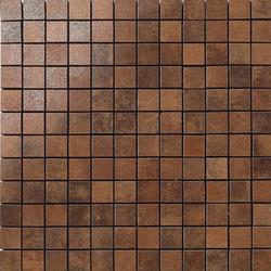 Metal copper lappato mosaico | Mosaici metallo | Apavisa