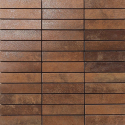 Metal copper lappato mosaico | Mosaici | Apavisa