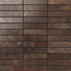 Metal titanium lappato mosaico | Mosaïques | Apavisa