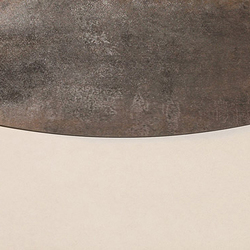 Metal titanium lappato mosaico onda | Carrelage de sol en métal | Apavisa