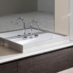 Waschtische waschtische boston 83 einbauwaschbecken milldue for Hochwertige waschtische