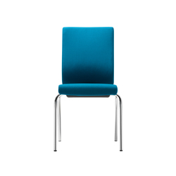@Just2 operator Four legged chair | Visitors chairs / Side chairs | Dauphin