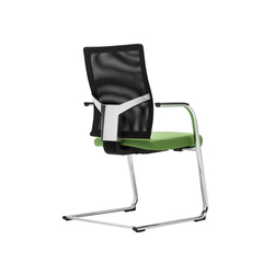 @Just2 mesh Cantilever chair | Sillas de visita | Dauphin