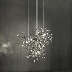 lampadari terzani : ... Lampade a sospensione in metallo-Lampade a sospensione-Argent-Terzani