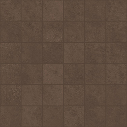 Microcement brown lappato mosaico | Concrete/cement mosaics | Apavisa