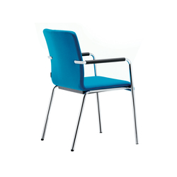Plenar2 conference Four-legged chair | Chairs | Dauphin