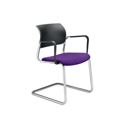 Previo Cantilever chair | Visitors chairs / Side chairs | Dauphin