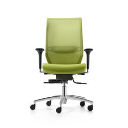 Shape mesh Swivel chair | Sillas de oficina | Dauphin