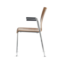 Siamo Four-legged chair | Sillas | Dauphin